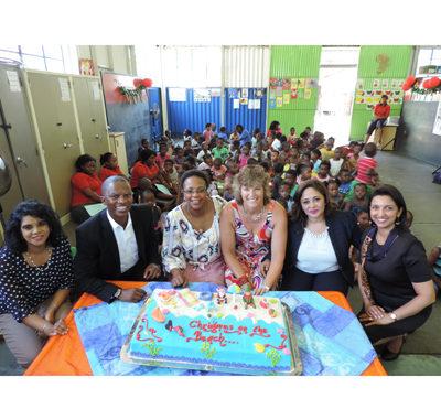 Durban ICC spreads festive cheer to the children