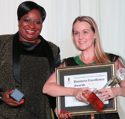 Business Excellence Award for Umfolozi Hotel