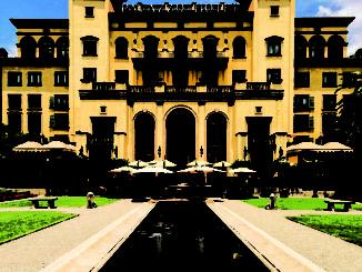 Palazzo Hotel entrance