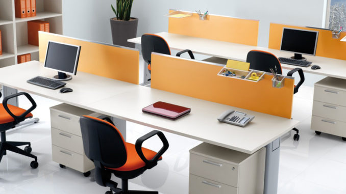 How can businesses use interior design to boost for Office design and productivity