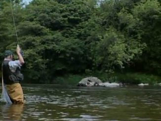 River fishing image